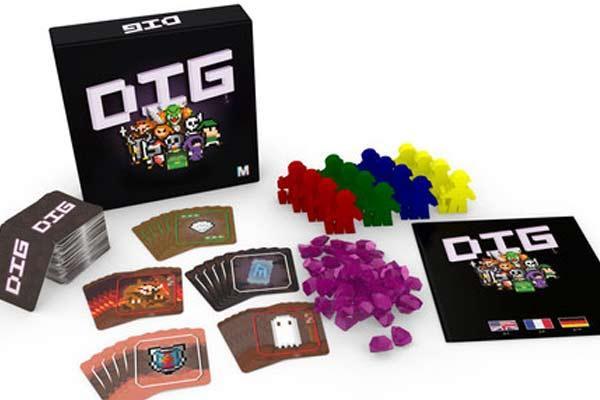 Brettspiel Dig - Foto von Mangrove Games