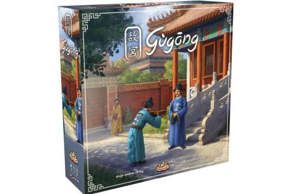 Brettspiel Gùgōng - Foto von Game Brewer