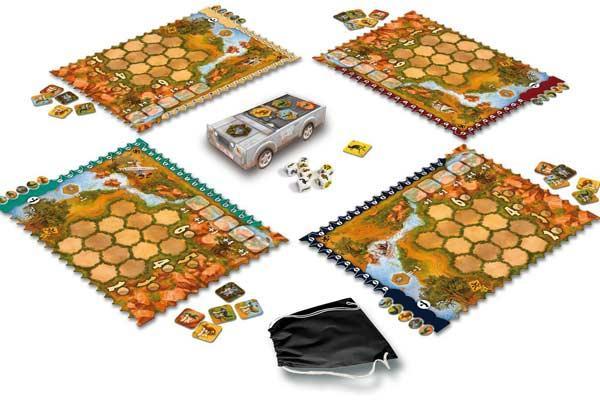 Gesellschaftsspiel Outback - Foto von HUCH!