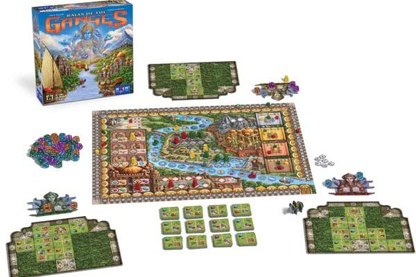 Brettspiel Rajas Of The Ganges - Foto von HUCH!
