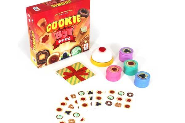 Cookie Box - Foto von Korea Boardgames