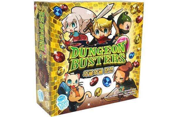 Dungeon Busters - Foto von Korea Boardgames