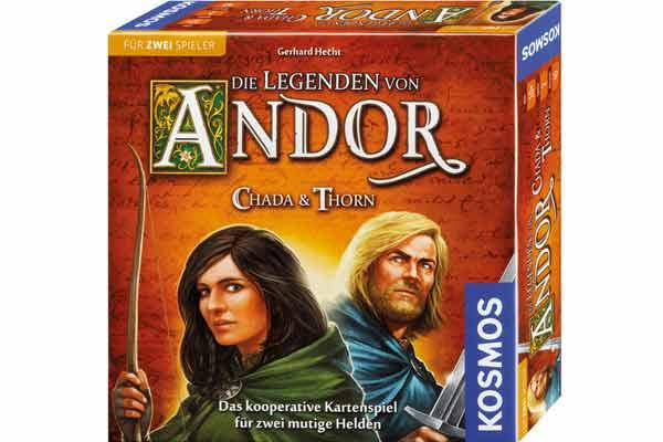 Die Legenden von Andor - Chada & Thorn - Foto von Kosmos