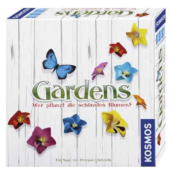 Familienspiel Gardens - Gärten legen - Foto von Kosmos