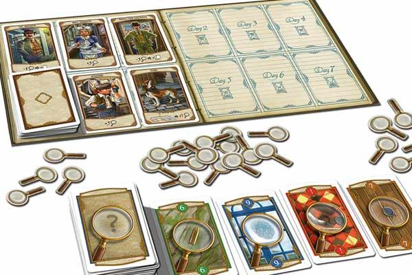 2-Personen-Spiel Holmes - Foto von Kosmos