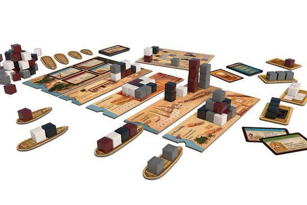 Brettspiel Imhotep - Foto von Kosmos
