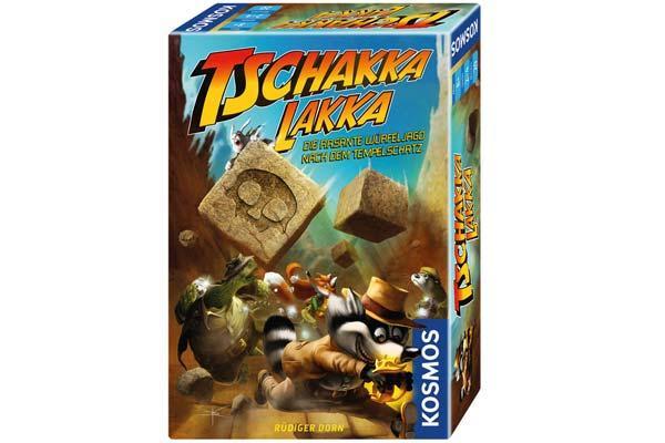 Gesellschaftsspiel Tschakka Lakka - Foto von Kosmos