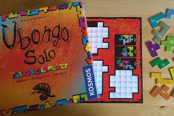 Gesellschaftsspiel Ubongo Solo, Foto: Steffi Münzer