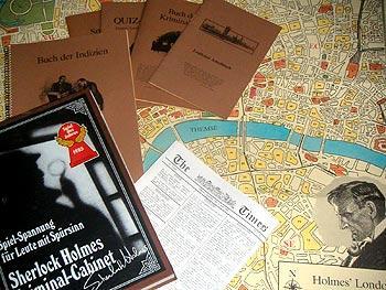 Sherlock Holmes Criminal Cabinet von Reich der Spiele