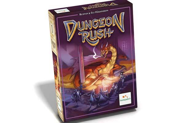 Kartenspiel Dungeon Rush - Foto von Lautapelit
