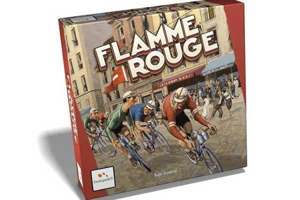 Radrennspiel Flamme Rouge - Foto von Lautapelit