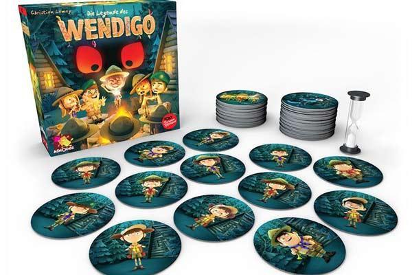 Die Legende des Wendigo - Foto Heidelberger Spieleverlag