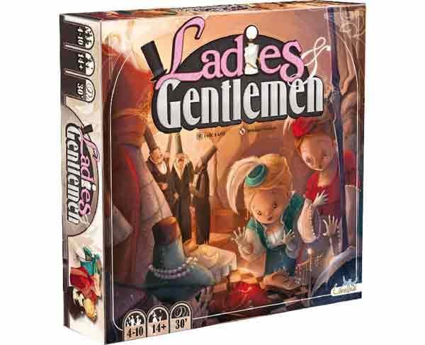 Gesellschaftsspiel Ladies anf Gentlemen - Foto von Libellud