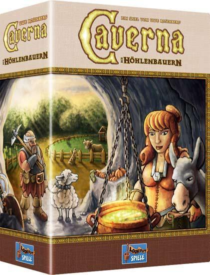 Strategiespiel Caverna - Foto: Lookout Spiele