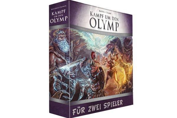 Kampf um den Olymp - Foto von Lookout Spiele