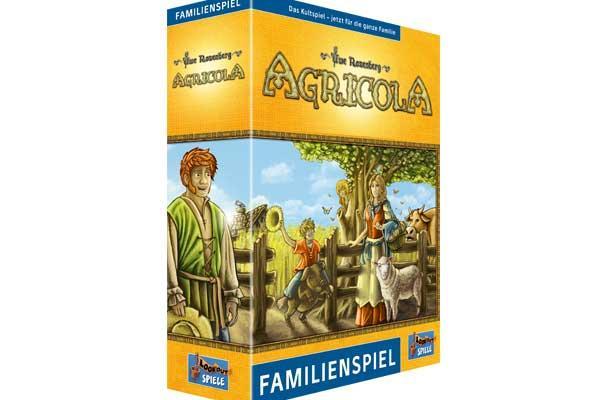 Agricola Familienspiel - Foto von Lookout Spiele