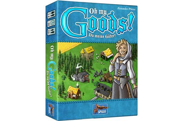 Oh My Goods - Cover - Foto Lookout Spiele