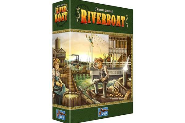 Riverboat - Foto von Lookout Spiele
