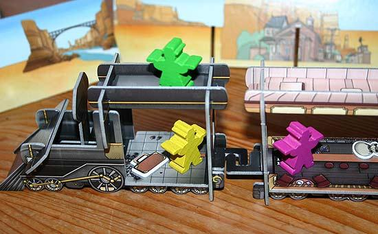 Gesellschaftsspiel Colt Express - Foto von Reich der Spiele