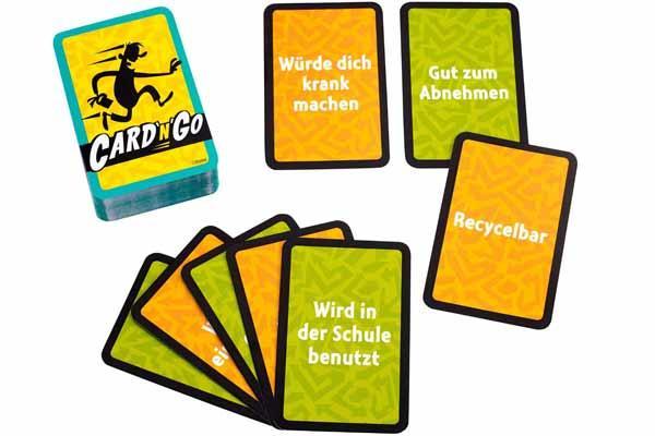 Kartenspiel Card'n'Go - Foto von Mattel
