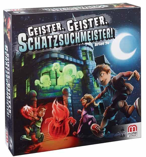 Familienspiel und Kinderspiel - Geister, Geister, Schatzsuchmeister