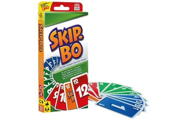Kartenspiel Skip-Bo - Foto von Mattel