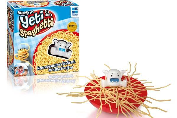 Kinderspiel Hilfe, ein Yeti in den Spaghetti - Foto von HUCH!