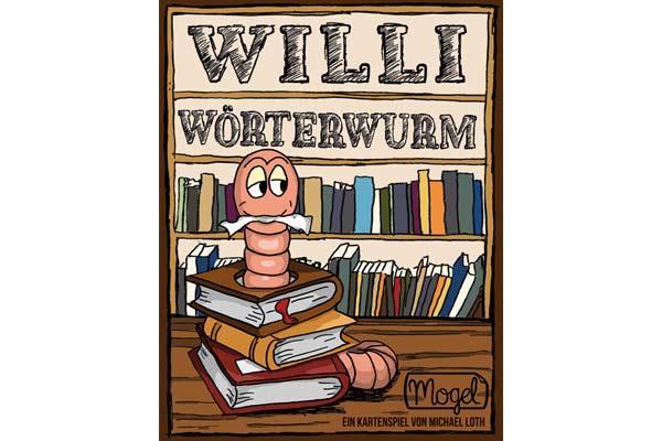 Willi Wörterwurm - Foto von Mogel-Verlag