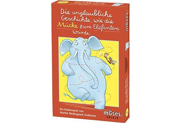 Die unglaubliche Geschichte, wie die Mücke zum Elefanten wurde - Foto von moses Verlag