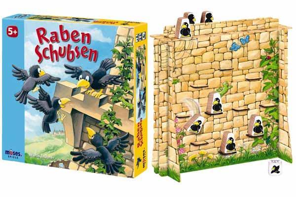 Kinderspiel Raben schubsen - Foto von Moses Verlag