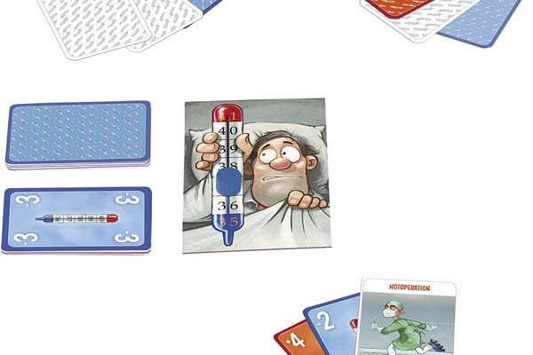Spielmaterial Gesellschaftsspiel Fieber - Foto von Moses Verlag