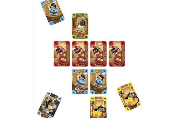 Kartenspiel Schicht im Schacht - Foto von Moses Verlag