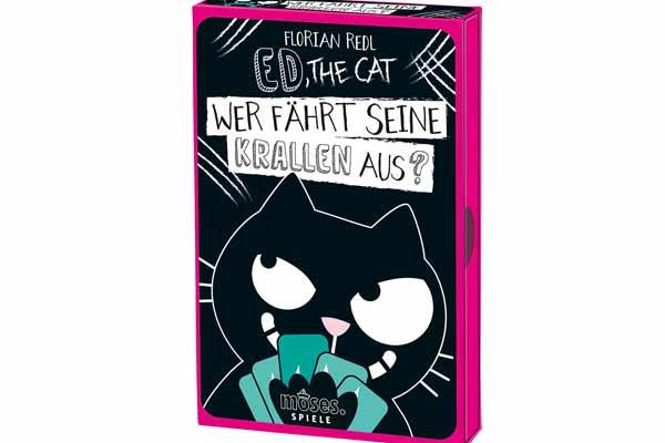 Ed, The Cat: Wer fährt seine Krallen aus? - Foto von Moses Verlag