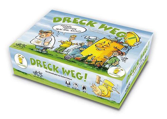 Kartenspiel Dreck Weg - Foto von Mücke Spiele