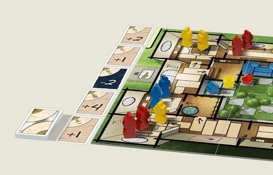 Brettspiel Takamatsu - Foto von Mücke Spiele