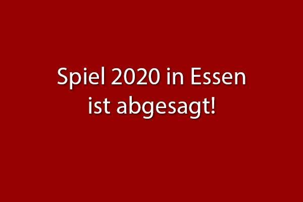 Spiel in Essen 2020 fällt aus/Essen Fair 2020 canceled
