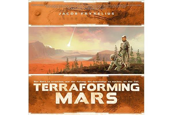Terraforming Mars ist Gewinner beim Deutschen Spielepreis 2017 - Foto Schwerkraft-Verlag