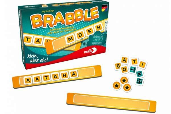 Wortspiel Brabble - Foto von Noris Spiele
