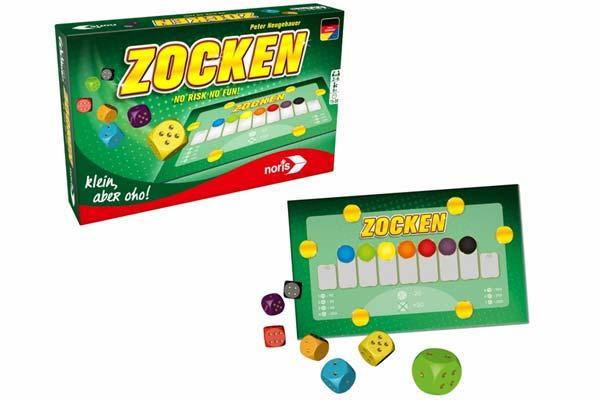 Gesellschaftsspiel Zocken - Foto von Noris Spiele