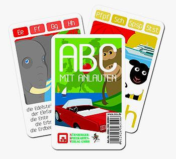 ABC mit Anlauten von Nürnberger Spielkartenverlag