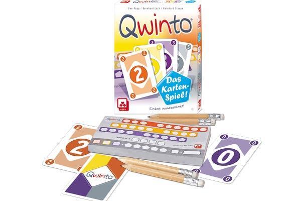 Qwinto - Das Kartenspiel - Foto von Nürnberger Spielkartenverlag