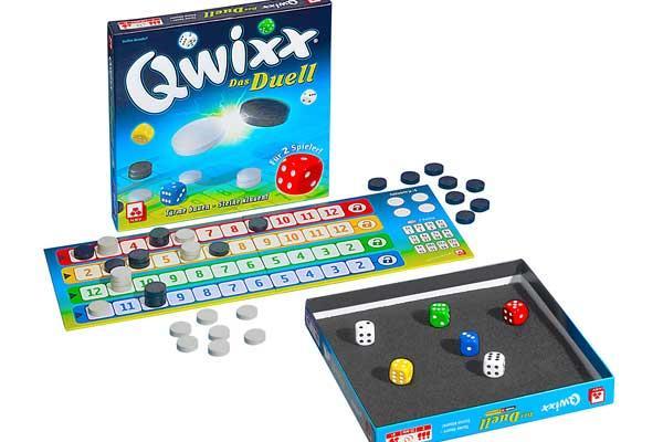 Qwixx: Das Duell - Foto von Nürnberger Spielkartenverlag