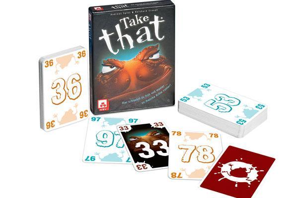 Kartenspiel Take That - Foto von Nürberger Spielkartenverlag
