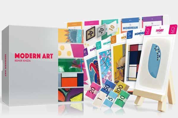 Modern Art 2017 - Foto von Oink Games