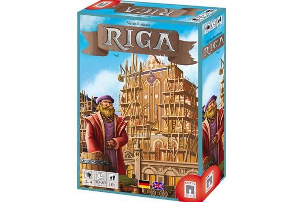 Gesellschaftsspiel Riga - Foto von Ostia Spiele
