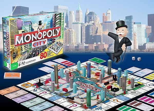 Monopoly City von Hasbro