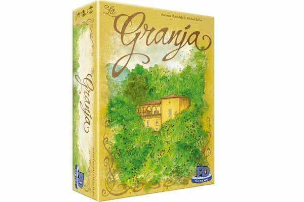 Brettspiel La Granja - Foto von PD Verlag