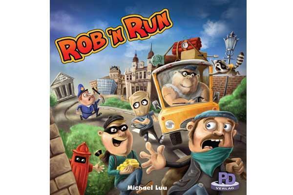 Brettspiel Rob'n Run - Foto von PD Verlag