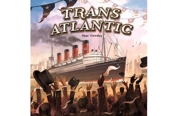 Brettspiel Trans Atlantic - Foto von PD Verlag