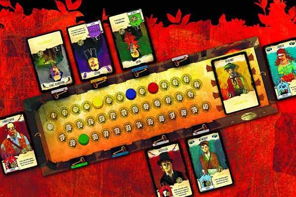 Die blutige Herberge - Spielaufbau - Foto von Pearl Games